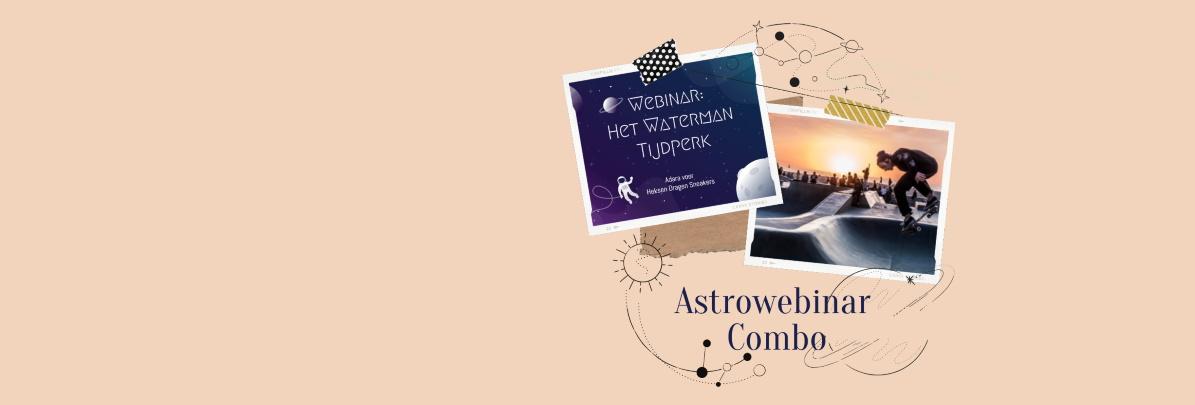 ASTROWEBINAR COMBO | Bestel 2 webinars samen aan kortingsprijs